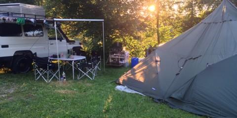 Probeweekend Camping Waldhof